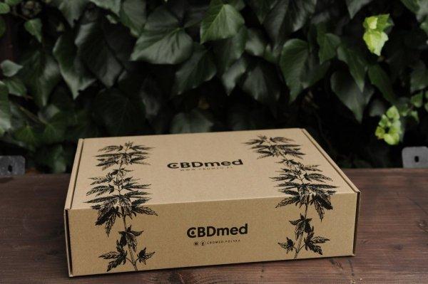Zestaw prezentowy BOX CBDmed 5%