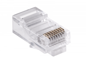 Wtyk telefon.  RJ45  8P 8C(drut)