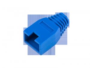 Osłona gumowa wtyku 8p8c RJ45 niebieska