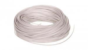 Przewód instalacyjny H05V-K 0,5 biały 29086 /100m/