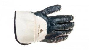 Rękawice z grubego Nitrylu na wkładzie z dżerseju, góra wentylowana, mankiet z drelichu rozmiar 10 NI17010