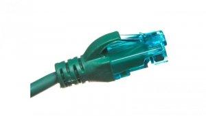 Kabel krosowy (Patch Cord) U/UTP kat.5e zielony 3m DK-1512-030/G