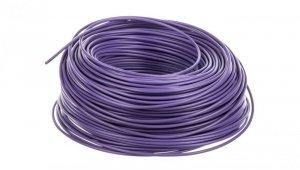 Przewód instalacyjny H07V-K 1,5 fioletowy 29136 /100m/