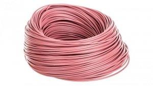 Przewód instalacyjny H05V-K 0,5 różowy 29090 /100m/