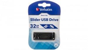 Pendrive VERBATIM 32GB SLIDER USB 2.0 98697