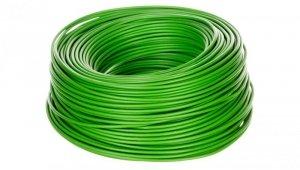 Przewód instalacyjny H07V-K 1,5 zielony 29139 /100m/