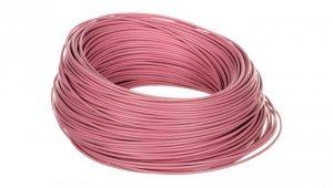 Przewód instalacyjny H05V-K 0,75 różowy 29106 /100m/