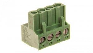 Wtyk śrubowy do płytek drukowanych 4P zielony MSTBT 2,5 HC/ 4-ST 1926251 /50szt./
