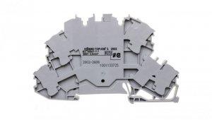 Złączka dwupiętrowa przelotowa 4-przewodowa 2002-2608 /50szt./