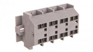 Listwa zaciskowa 4-przewodowa 4mm2 4-torowa szara mocowanie śrubowe 262-204 /100szt./