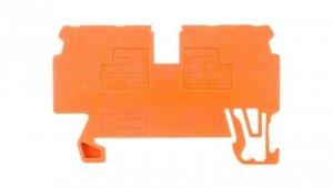 Złączka 4-przewodowa 2,5mm2 pomarańczowa 870-832