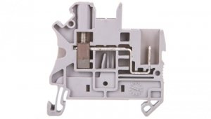 Złączka szynowa 2-przewodowa 2,5mm2 śrubowo/wtykowa szara UT 2,5/1P 3045017 /50szt./