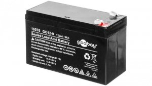 Akumulator kwasowo-ołowiony 12V 9Ah GO12-9 Faston (4.8mm) 16076
