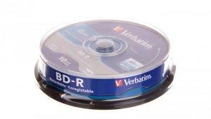 Płyta Blu-Ray BD-R VERBATIM 25GB x6 /CAKE 10szt./