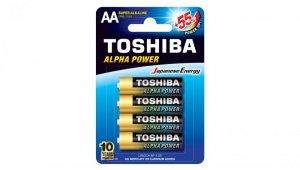 Bateria ultra alkaliczna LR6 / AA 1,5V ALPHA POWER LR6GCH BP-4 /blister 4szt./