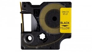 Taśma/rurka termokurczliwa do drukarek 12mm x 1,5m żółta S0718310 18056