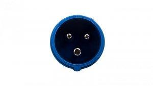 Wtyczka przenośna 16A 3P 230V niebieska IP44 SHARK 013-6v