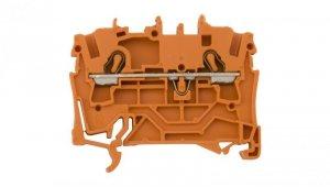 Złączka szynowa 2-przewodowa 2,5mm2 pomarańczowa 2002-1202 TOPJOBS