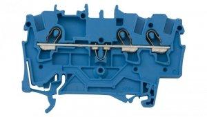 Złączka szynowa 3-przewodowa 1,5mm2 niebieska 2001-1304 TOPJOBS