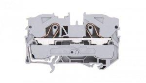 Złączka szynowa 2-przewodowa 10mm2 szara 2010-1201 TOPJOBS