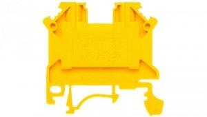 Złączka szynowa 2-przewodowa 2,5mm2 żółta NOWA ZSG 1-2.5Nz 11221314