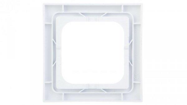 AS Ramka pojedyncza do łączników IP44 biała RH-1G/00
