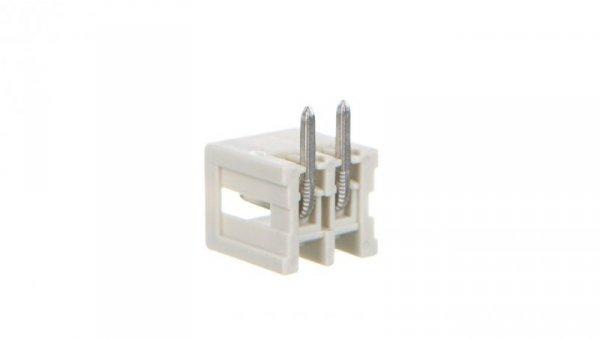 Wtyk MCS-MINI Classic 2-biegunowy jasnoszary raster 3,5mm 734-162 /200szt./