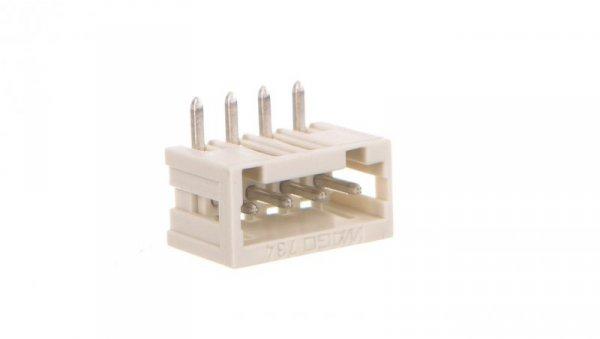 Wtyk MCS-MINI Classic 4-biegunowy jasnoszary raster 3,5mm 734-164 /200szt./