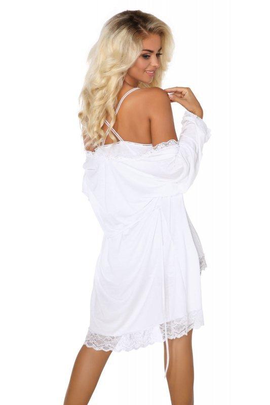 JANE WHITE komplet szlafrok i koszulka z modalu
