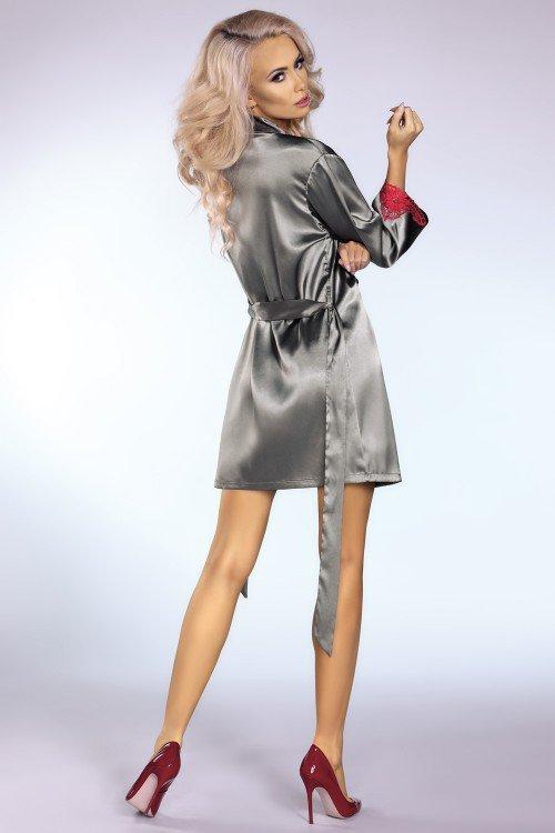 Platinum Red szlafrok i koszulka rozmiar - L/XL