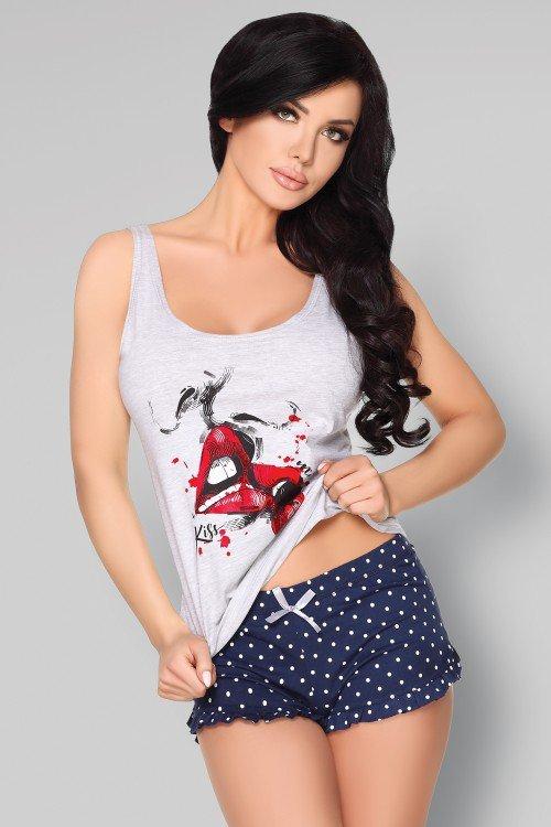 Alvinata urocza piżama z bawełny L/XL