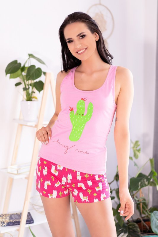EMBRASSE piżama damska z bawełny S/M