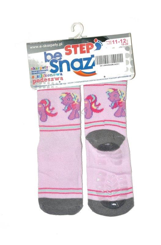 Skarpety Be Snazzy SK-12 Silikon Girl15-23