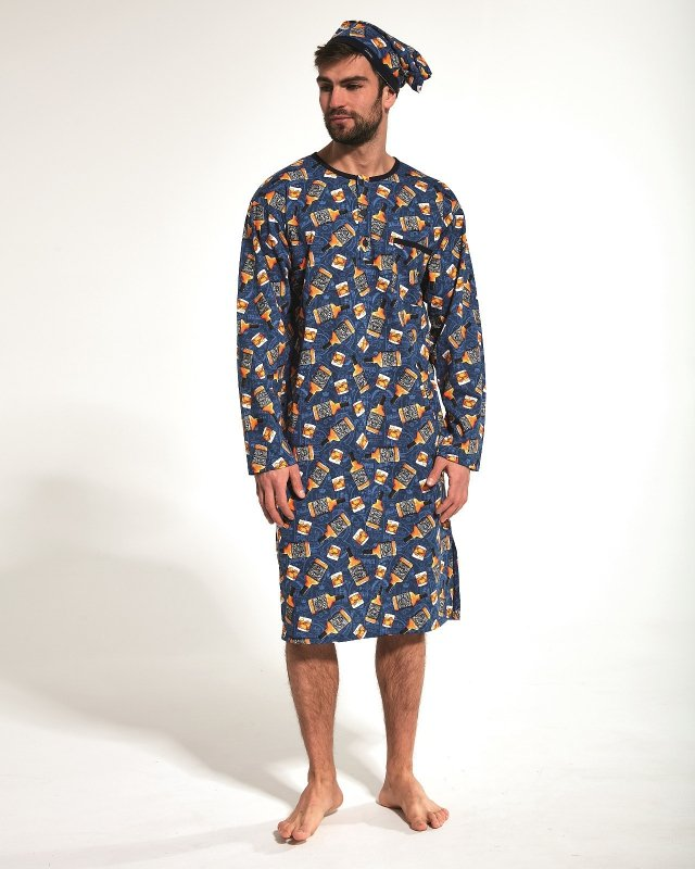 Koszula nocna męska Cornette 110/04 653901 3XL-5XL