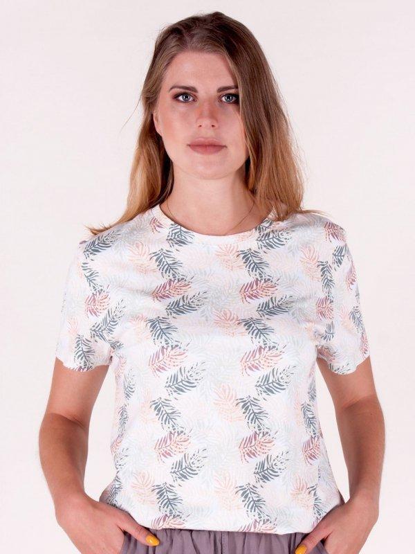 Koszulka YO! PK-018 Liście