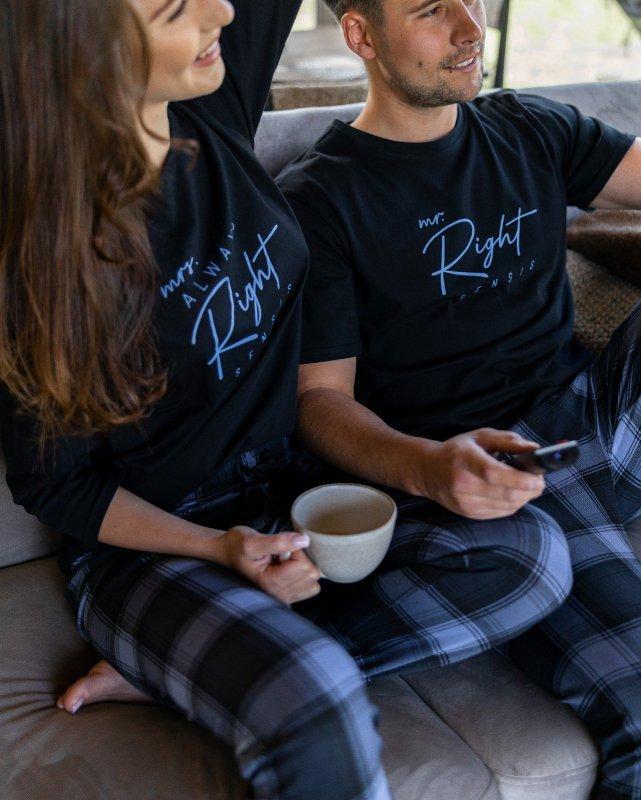 Piżama Sensis Victor kr/r S-XL