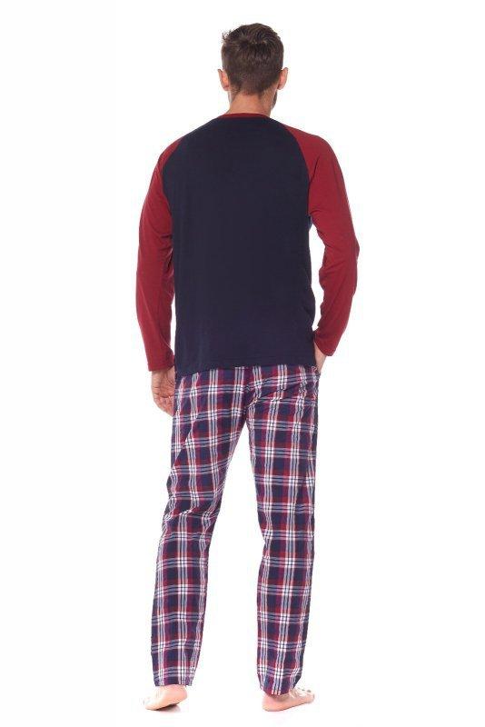Piżama L&L Baseball 2163 dł/r M-3XL
