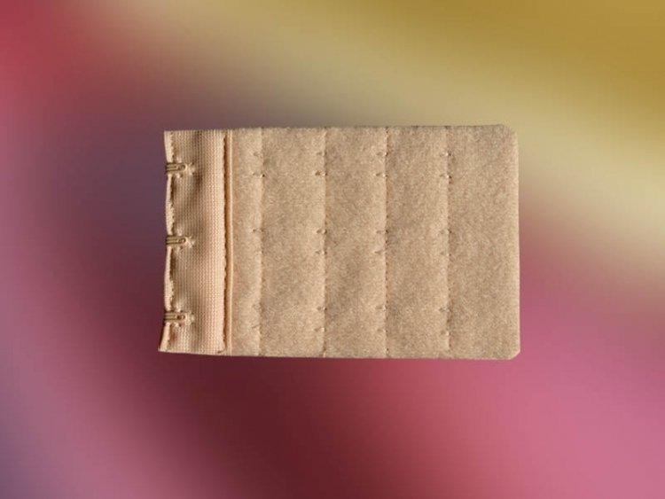 Przedłużka 3 rzędowa 5,5 cm beżowa, biała, czarna, ecri