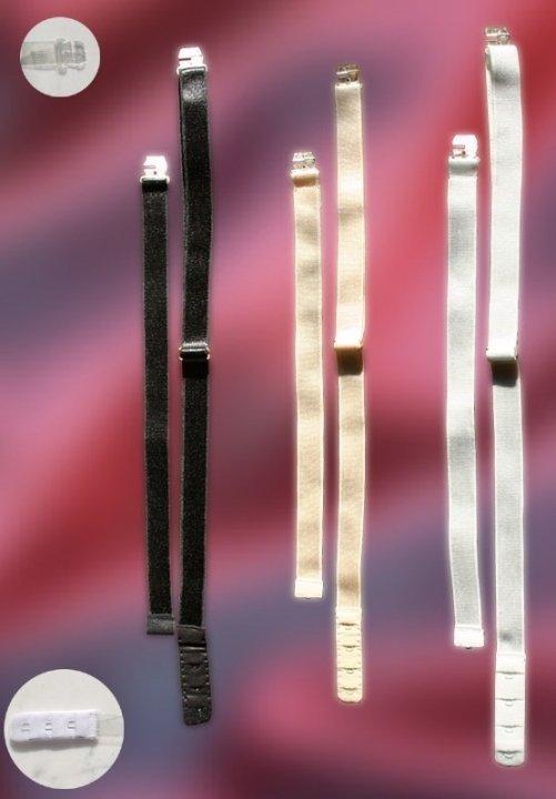 Obniżacz zapięcia biustonosza beżowy, czarny, biały