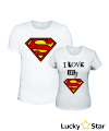 Zestaw koszulek I love my hero