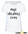 Zestaw koszulek dla par Mąż idealnej żony, Żona idealna