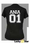 Zestaw koszulek dla par 01 z Twoim imieniem