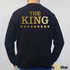 Bluzy dla par THE KING HIS GUEEN