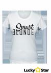Zestaw koszulek dla przyjaciółek Smart BLONDE fun BRUNETTE