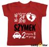 Koszulka dziecięca METRYCZKA dla chłopczyka