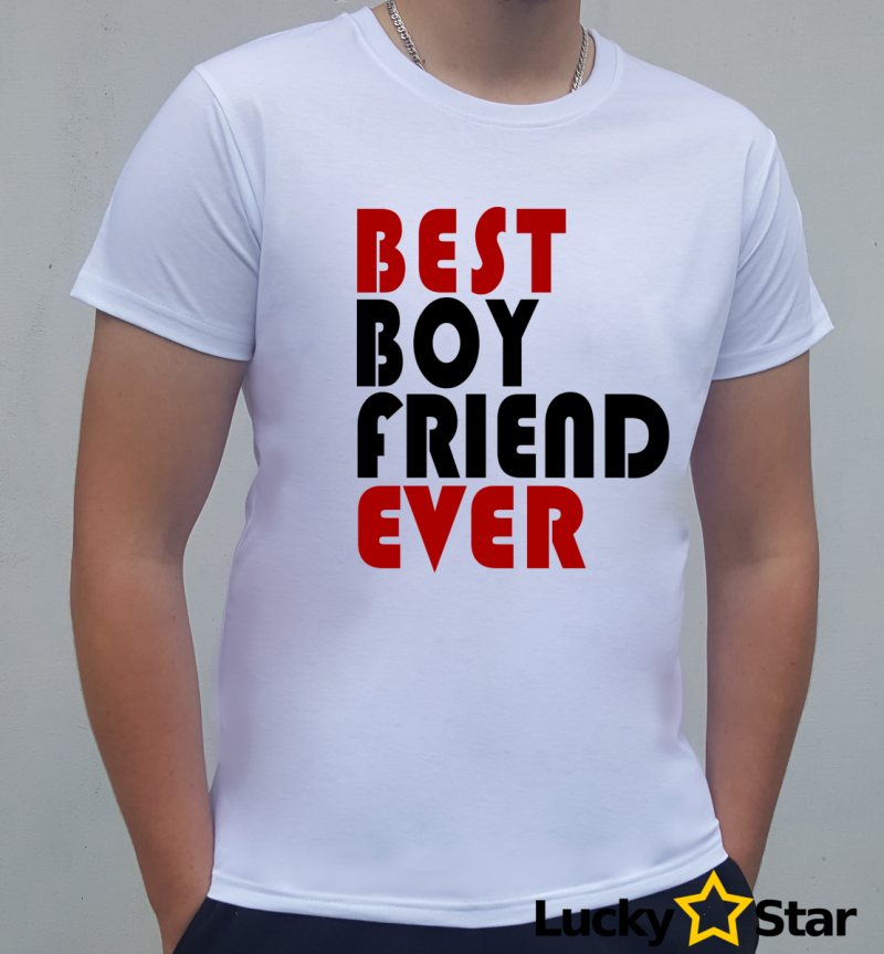 Koszulka Męska best BOY FRIEND ever