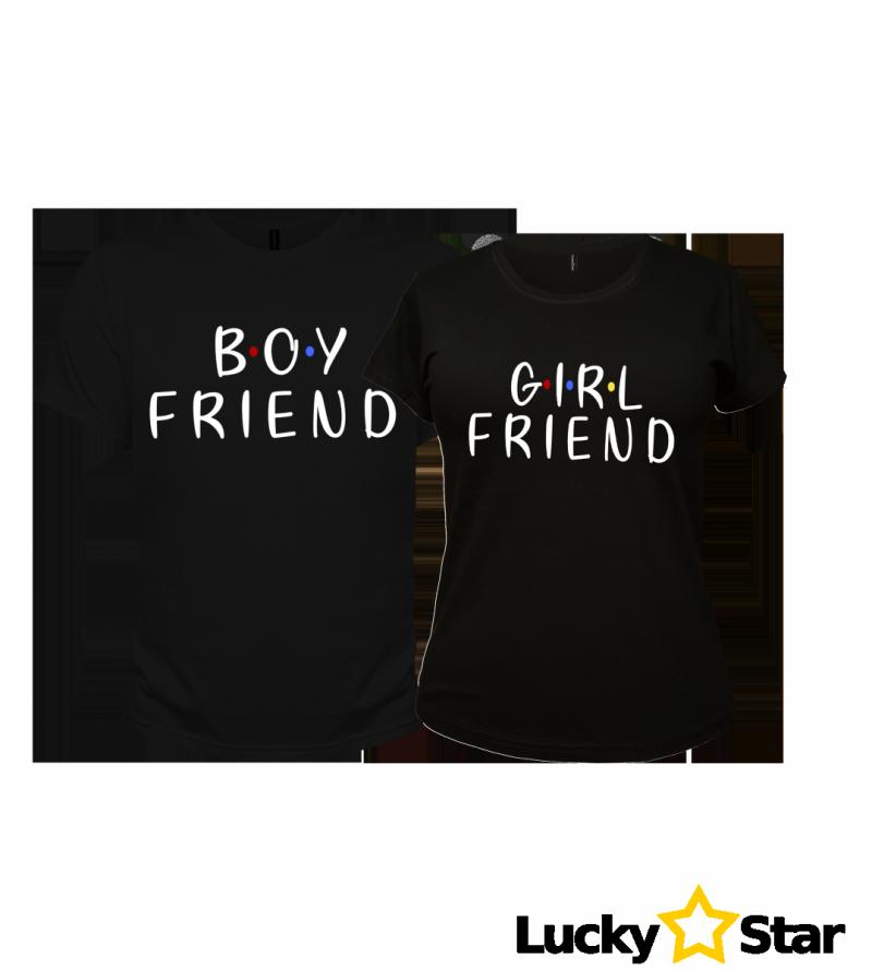 Koszulki dla Par Boy, Girl FRIEND