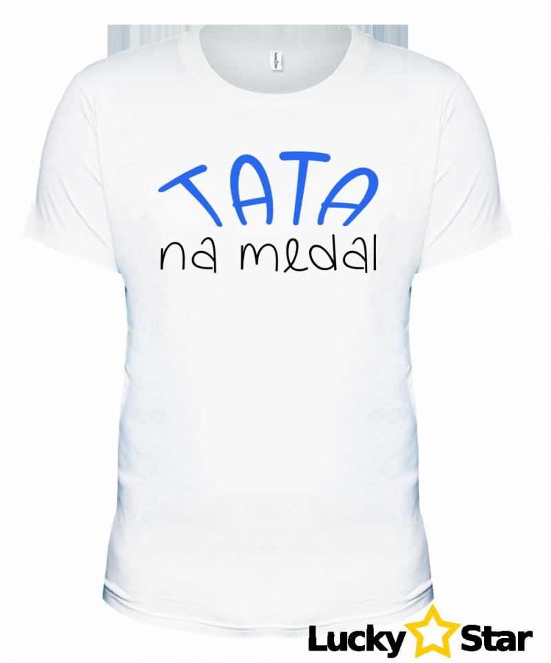 Koszulka Męska TATA na medal