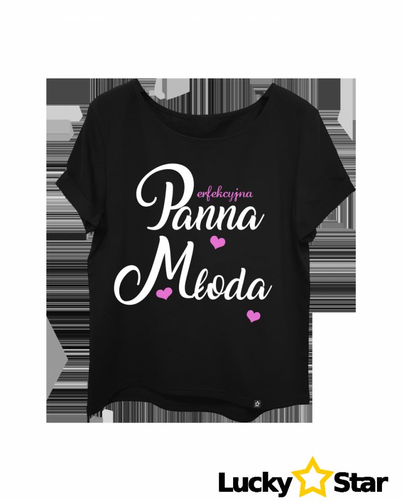 Koszulka Damska Perfekcyjna Panna Młoda