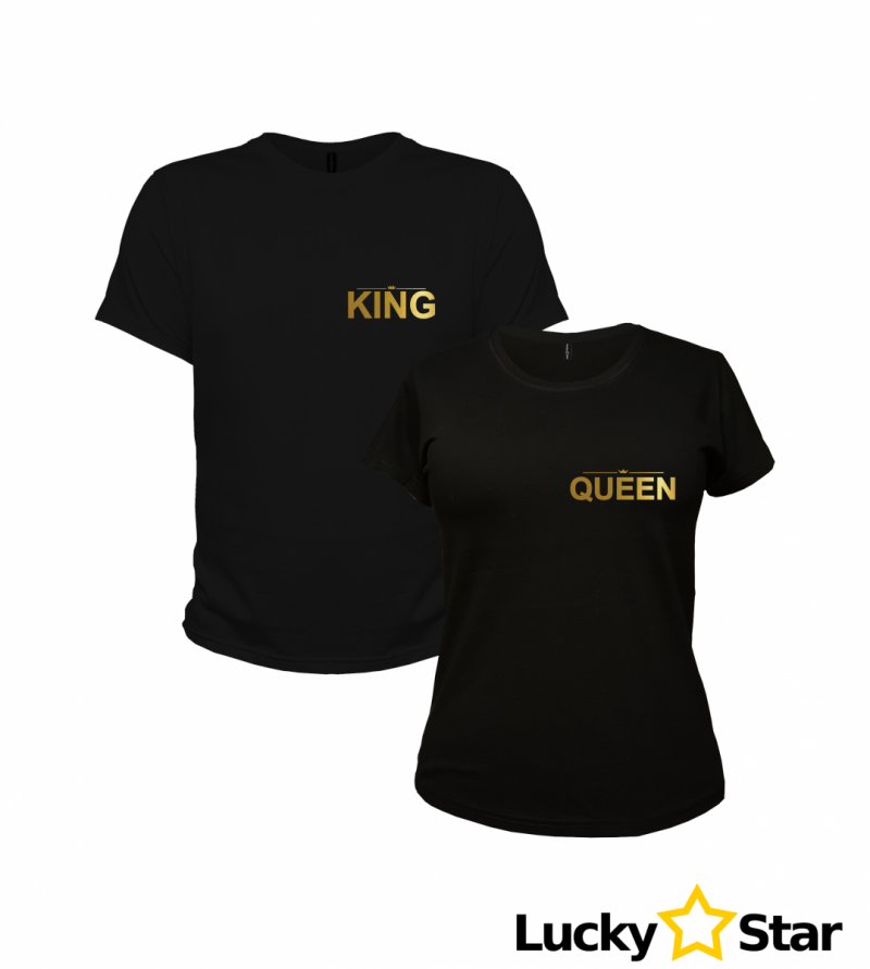 Koszulki dla Par King, Queen 01